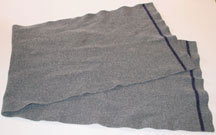 German Army (Bundeswehr) Grey Wool Scarf