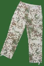 "German Army (Bundeswehr) ""Wustentarn"" (tropical) Desert Flectarn Camo Pants"