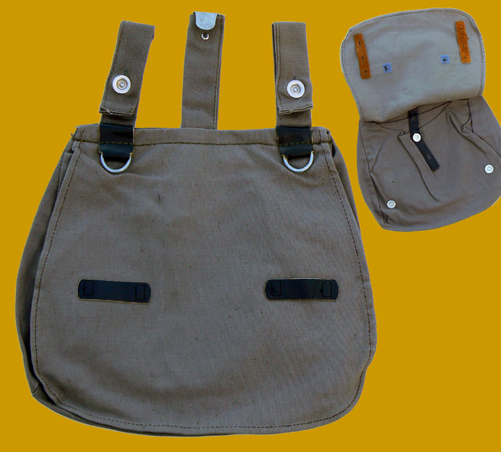 East German Army Breadbag