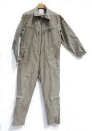 "German Army Bundeswehr Unlined OD Tankers Coveralls 41"" Chest"