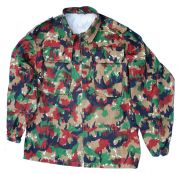 "Swiss Army Leibermuster ""Alpenflage"" Camo Field Shirt"