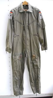 German Army Bundeswehr Flight Suit 1981 Dated - Sergeant Major