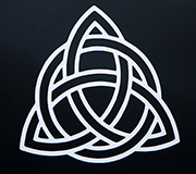 Celtic Knot Vinyl Window Decal