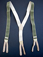 Czech Military Trouser Suspenders - Vintage