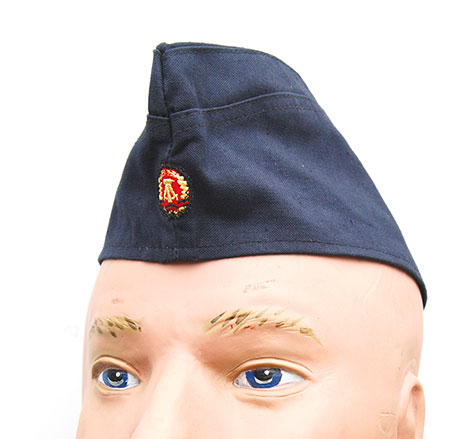 East German Navy (Volksmarine) Summer Enlisted Ranks Garrison Cap