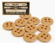 US GI WWII Khaki #1 Trouser Buttons 10/pack