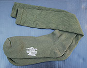 US GI OD Socks - New, Unissued Condition