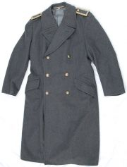 "German Bundeswehr Wool Overcoat 41"" Chest"