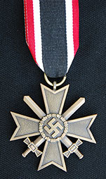 German WWII War Merit Cross 2nd Class w/ Ribbon
